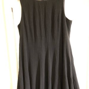 Calvin Klein A line fit and flare sleeveless dress